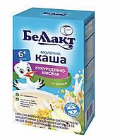 Молочная  каша  Беллакт кукурузно-овсяная с грушей  с 6 месяцев 200 гр