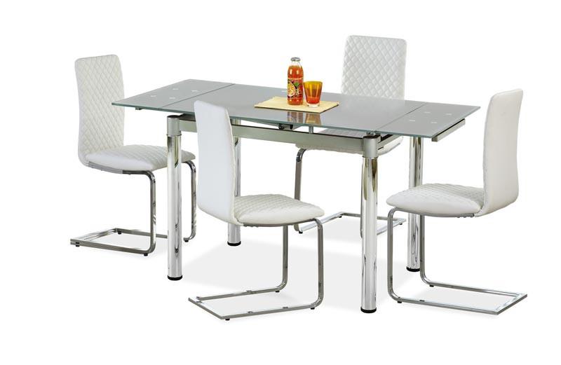 Стол обеденный LOGAN 2 96-142/70/75 см, серый
