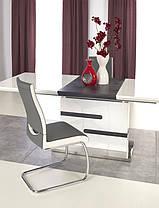 Стол обеденный MONACO 160-220*90*76 см, бело-серый, фото 3