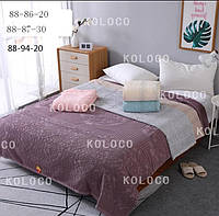Махрове покривало на ліжко  євророзмір (Махровое покрывало на кровать евро)