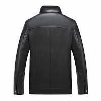Мужская кожаная куртка. Модель 2028, фото 3