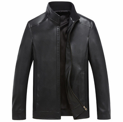 Мужская кожаная куртка. Модель 2028
