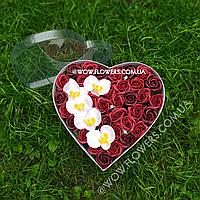 """Розы из мыла, набор цветов из мыла """"Страсть"""". Креативный подарок для любимой"""