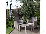 Комплект меблів для саду зі штучного ротангу ROSARIO BALCONY SET капучіно ( Allibert ), фото 7