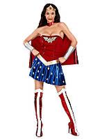 Женский карнавальный костюм Wonderwoman
