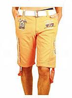 Canadian Peak Стильные шорты-бермуды Pharell Красного цвета