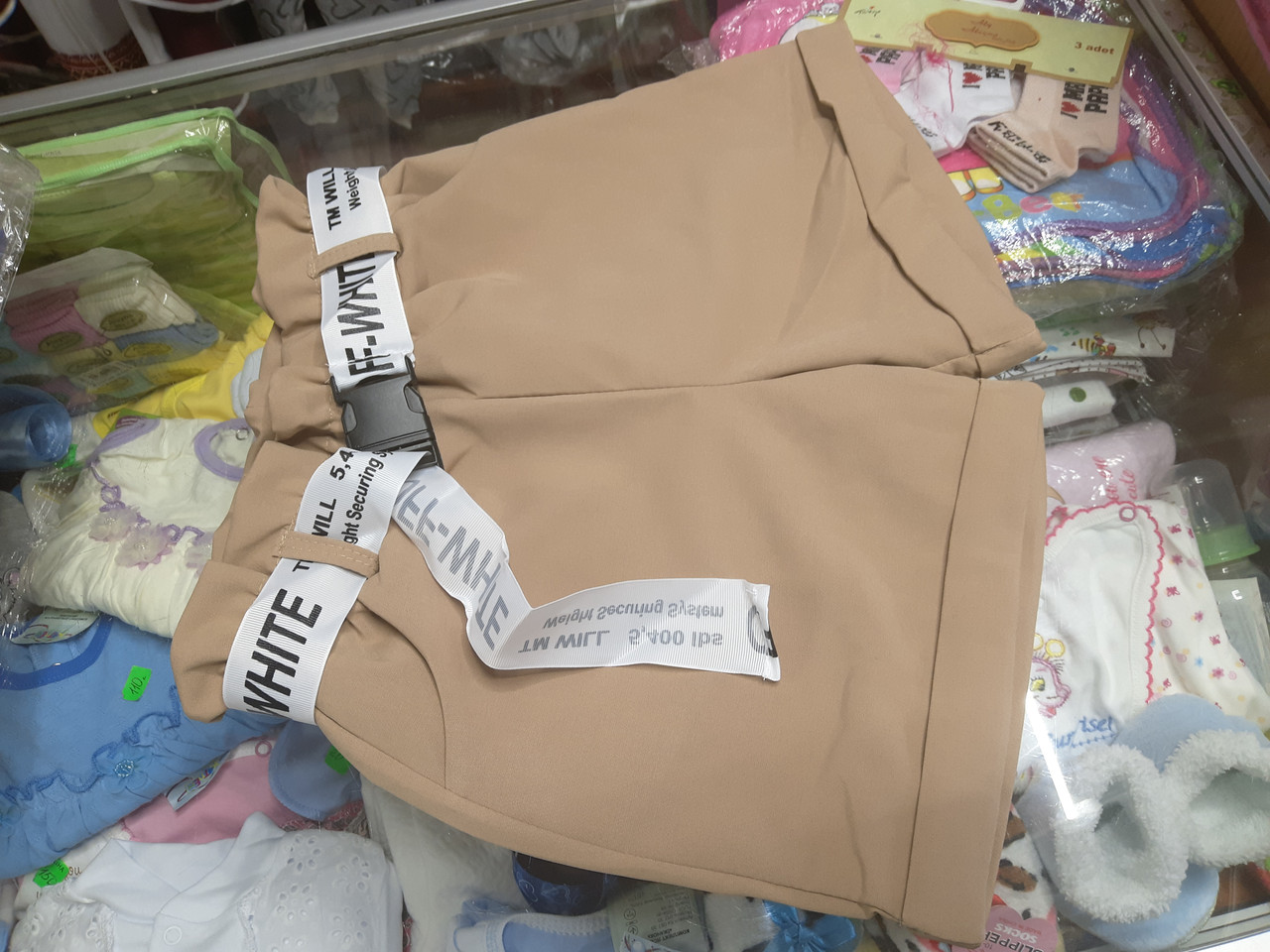 Детские летние подростковые модные шорты для девочки р.134 - 146
