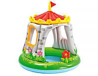 Надувной игровой центр Замок Intex, 122х122 см, от 1 до 3 лет