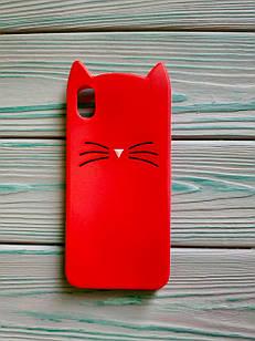 Чехол 3D Cat для Xiaomi Redmi 7A Бампер Усики ( 3 цвета)