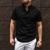 Рубашка мужская из льна белая  S M L XL XXL, фото 3