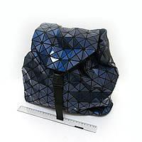 "6228-702G голографический  рюкзак молодежный женский  ""Stylish"" темно- синий 34x32x12 см"