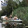 Двухместная байдарка надувная Ладья ЛБ-450УВ Базовая Турист надувной каяк Ладья  байдарка туристическая, фото 9