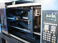 Производство изделий из пластмасс способом литья под давлением.