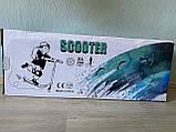 Самокат детский двухколесный, складной Scooter Select Style 016, городской, большие колеса, Синий, фото 3