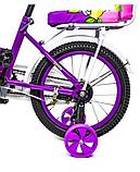 """Велосипед 16 """"SHENGDA"""" Violet T15, Ручной и Дисковый Тормоз, фото 4"""
