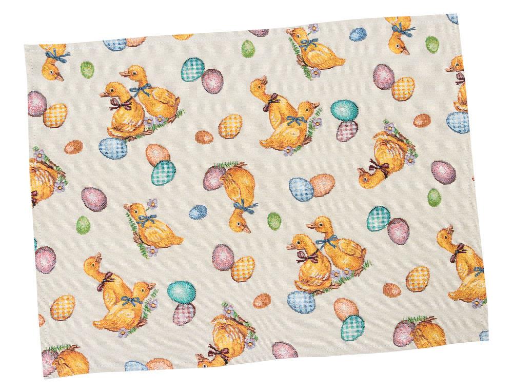 Серветка-підкладка для кухні LiMaSo 34*44 см гобеленова великодній арт.EDEN865-34.34х44