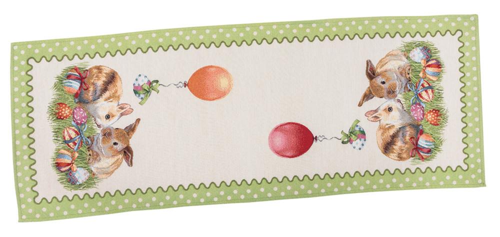 Скатерть-дорожка LiMaSo 37*100 см гобеленовая пасхальная арт.RUNNER865-37.37х100