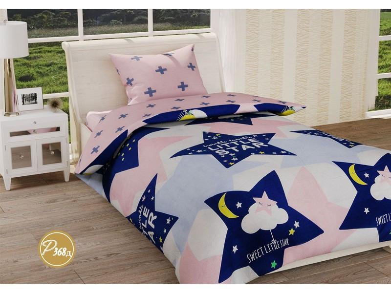 Комплект постельного белья Leleka-textile полуторный ранфорс подростковый арт.Р-368Д