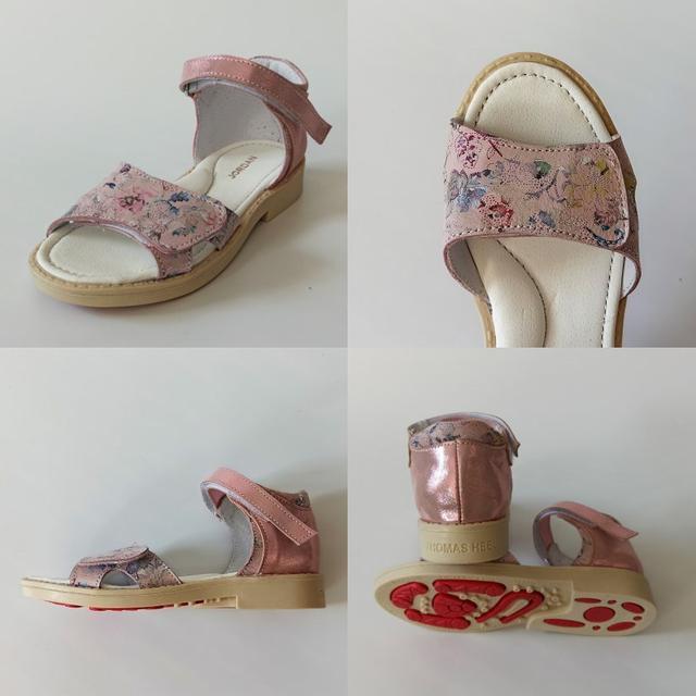 Босоножки на девочку розового цвета Jordan фото