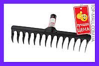 Грабли Intertool - 14 зубьев молотковые,Грабли веерные, Грабли садовые, Грабли мотоблочные, Грабли-сеноворошилки, Грабли тракторные, Грабли навесные,