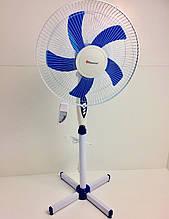 Підлоговий вентилятор з пультом MS-1621/ 5103 (4 шт/ящ)