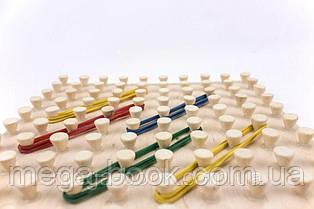 """Математический планшет игрушка """"Фантазируем с резиночками"""" 10*10 геоборд"""