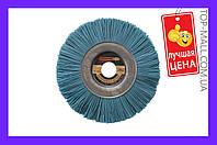 Щетка дисковая пиранья Pilim - 150 х 12 х 22 мм х P180, синяя (АРТИКУЛ SP-20270)