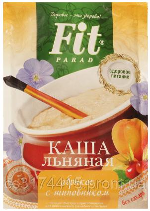 Льняна Каша ФитПарад смак Абрикос і Шипшина пакет-саше (25 грамів)