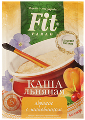 Каша льняная ФитПарад  вкус Абрикос и Шиповник пакет-саше (25 грамм)
