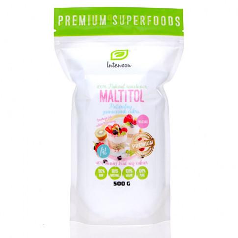 Мальтитол (мальтит) — натуральний цукрозамінник (500 g), Intenson