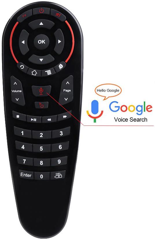 Пульт Air mouse G30 ( g30s )   Микрофон   Гироскоп   33 обучаемые кнопки