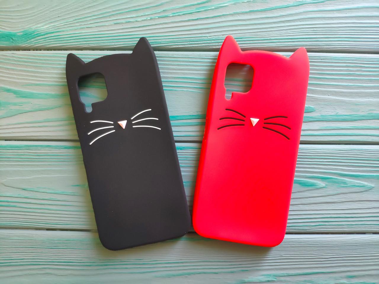 Чехол 3D Cat для Huawei P40 Lite Бампер Усики (2 цвета)