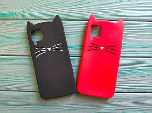 Чохол 3D Cat для Huawei P40 Lite Бампер Вусики (2 кольори)