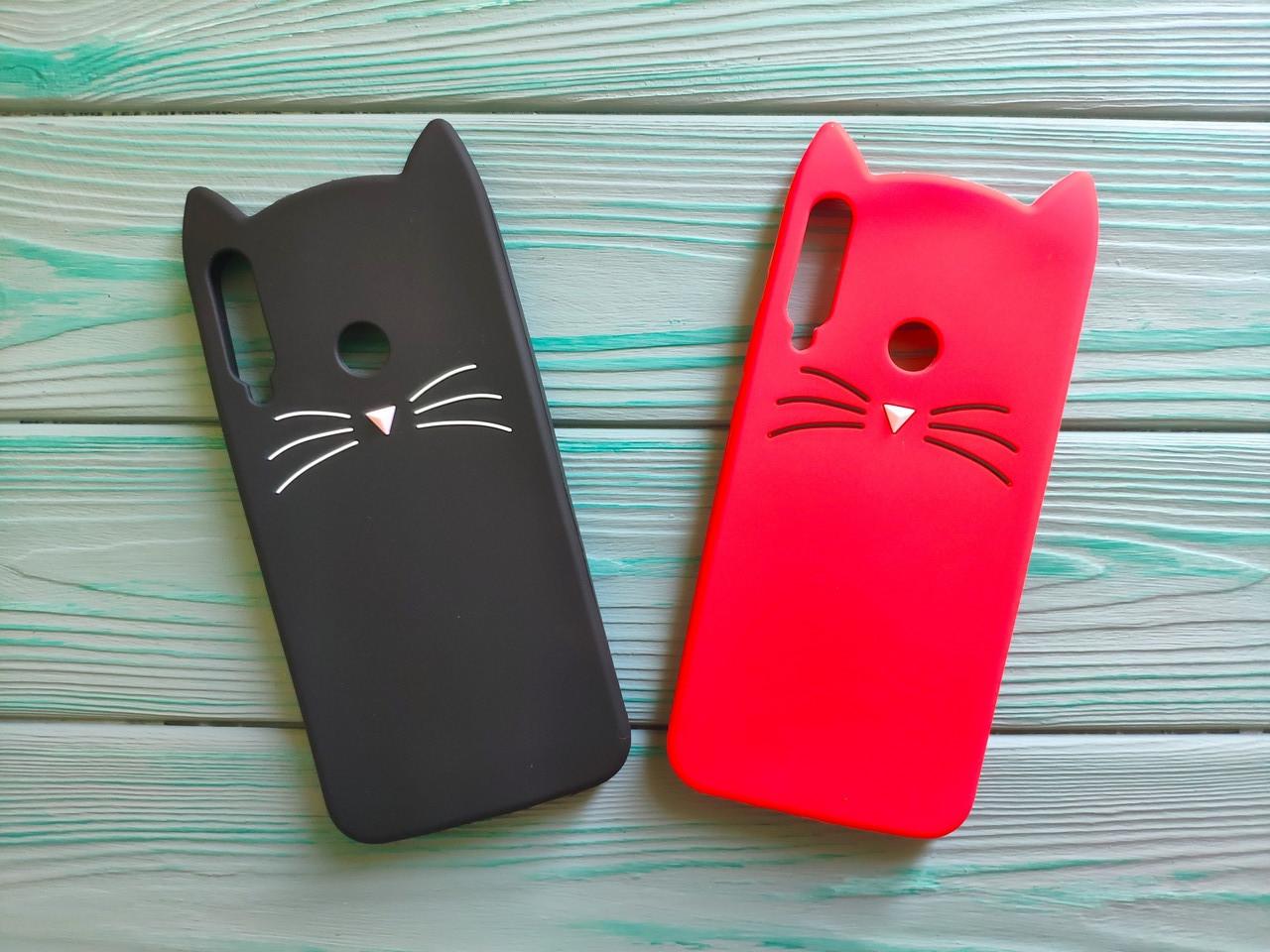 Чехол 3D Cat для Huawei P40 Lite E Бампер Усики (2 цвета)