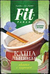 Каша льняная ФитПарад вкус Яблоко с Корицей пакет-саше (25 грамм)