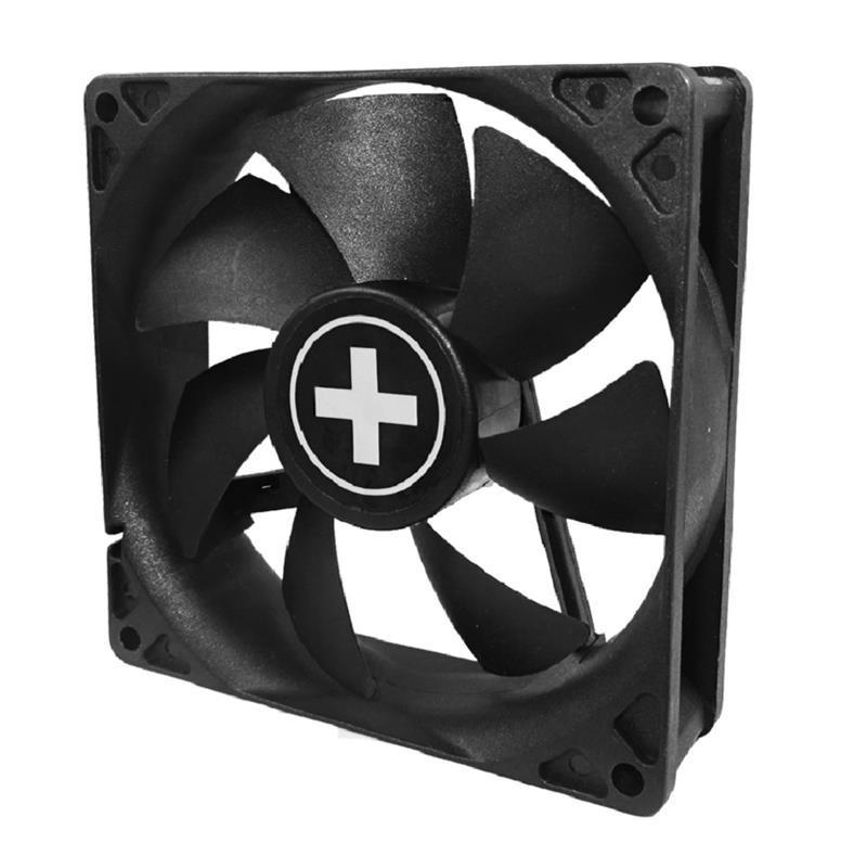 Вентилятор Xilence XPF80.W (XF034), 80х80х25мм, 3-pin+4-pin, Black_