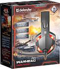 Гарнитура Defender Warhead G-370 Black/Red (64037), фото 4