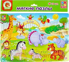 Пазл мягкий Vladi Toys Зоопарк