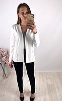 Женские белый легкий пиджак Boohoo, оригинал, Великобритания, размер S, последний размер