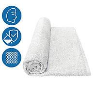 Махровое полотенце для лица 50х90 см плотность 500 г/м2 100% хлопок петлевое Туркменистан белое