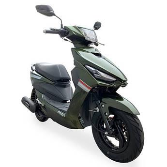 Скутер FADA JOG (YB80QT-3) Зеленый хамелеон