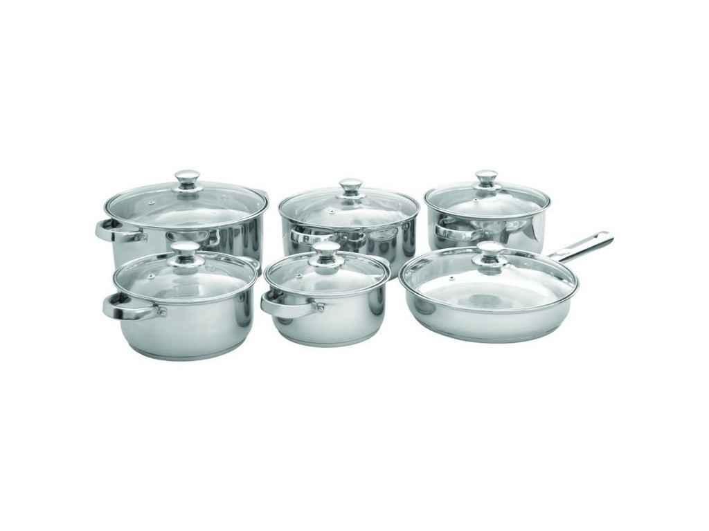 """Набор посуды нержавеющей 12 предметов (26-270-001) """"MARTEX"""""""