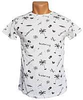 Белая футболка Moranni - №6000