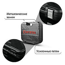 "Набор инструментов 110 ед. STORM, 1/2"", 1/4"", Сr-V INTERTOOL ET-8110, фото 3"