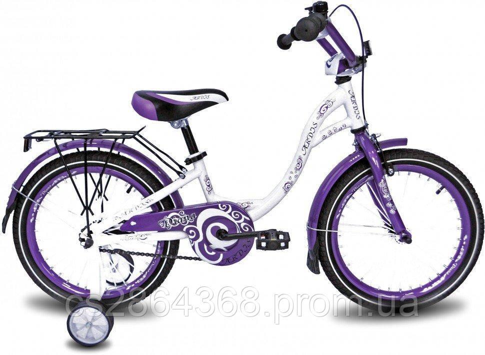 """Ardis Diana BMX 18"""" белый/фиолетовый"""