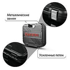 """Набор инструментов 1/2"""" & 1/4"""", 56ед., Cr-V STORM INTERTOOL ET-8056, фото 3"""