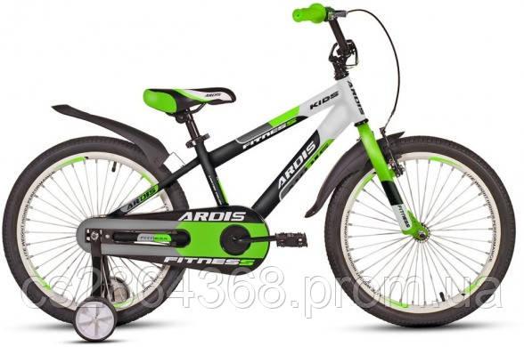 """Ardis Fitness BMX 20"""" Белый/черный"""