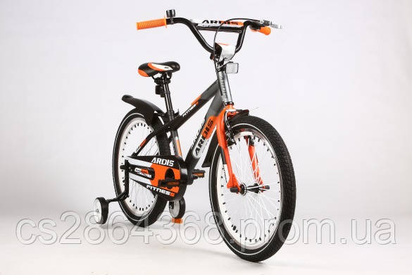 "Ardis Fitness BMX 16"" Серый/Оранжевый"