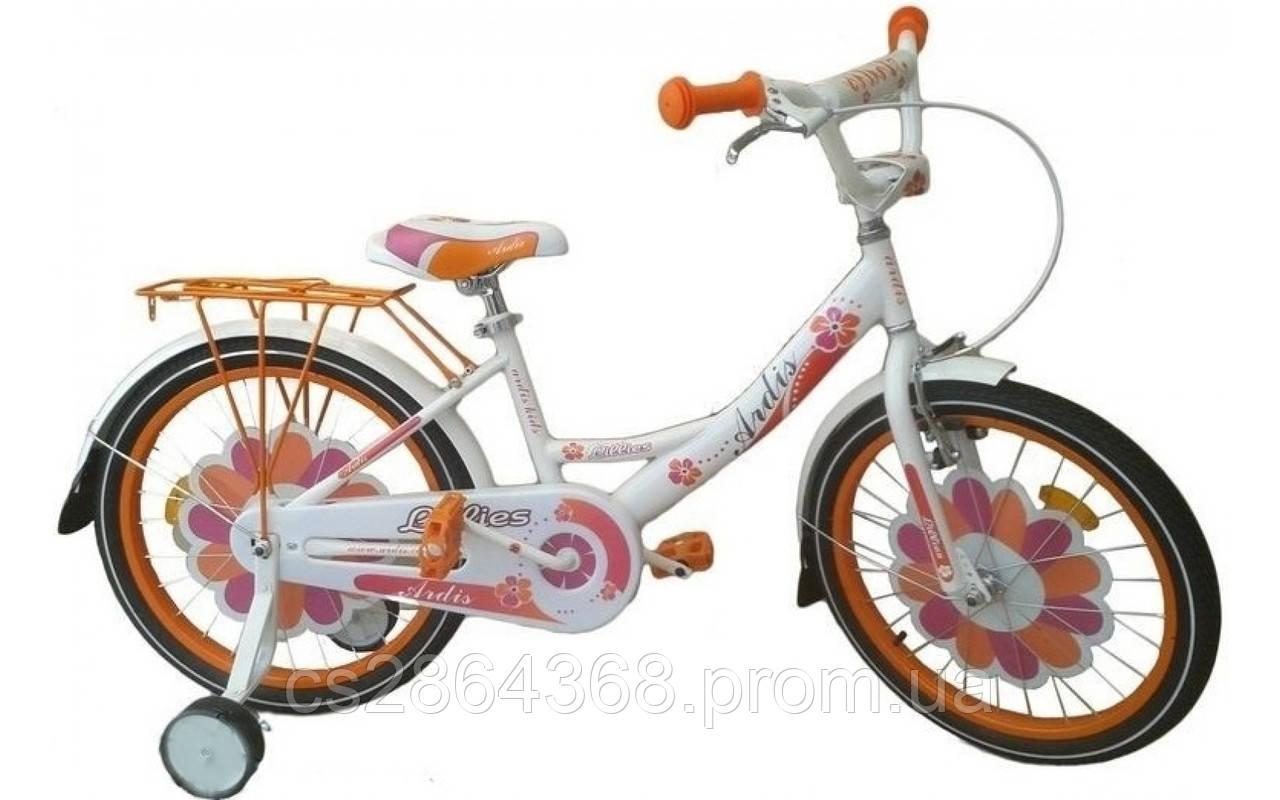"""Ardis Lillies BMX 18"""" Бело-оранжевый"""