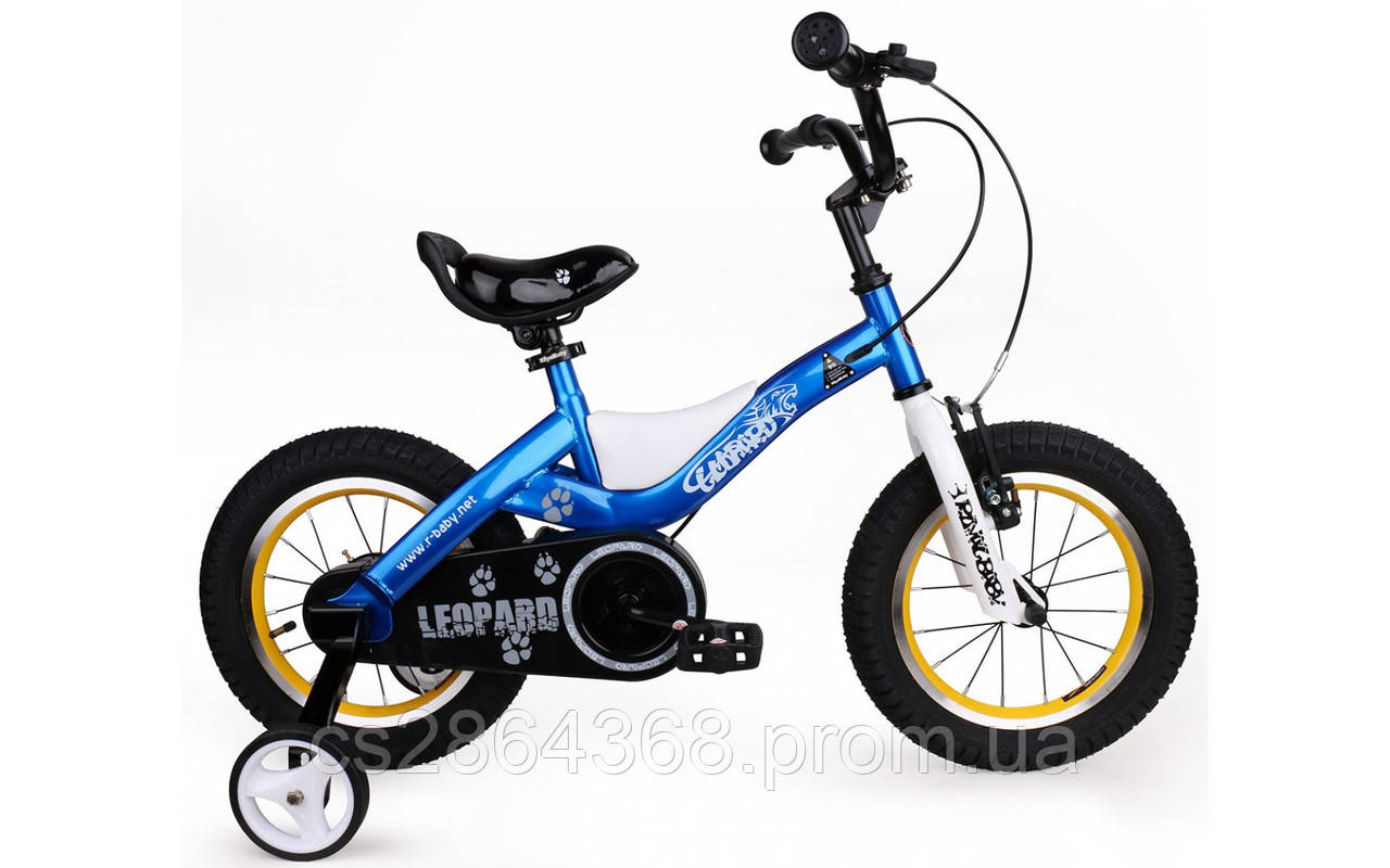 Royal Baby LEOPARD 14 BMX(синий)